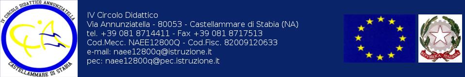 Direzione Didattica Statale IV Circolo - Via Annunziatella - Castellammare di Stabia (NA)